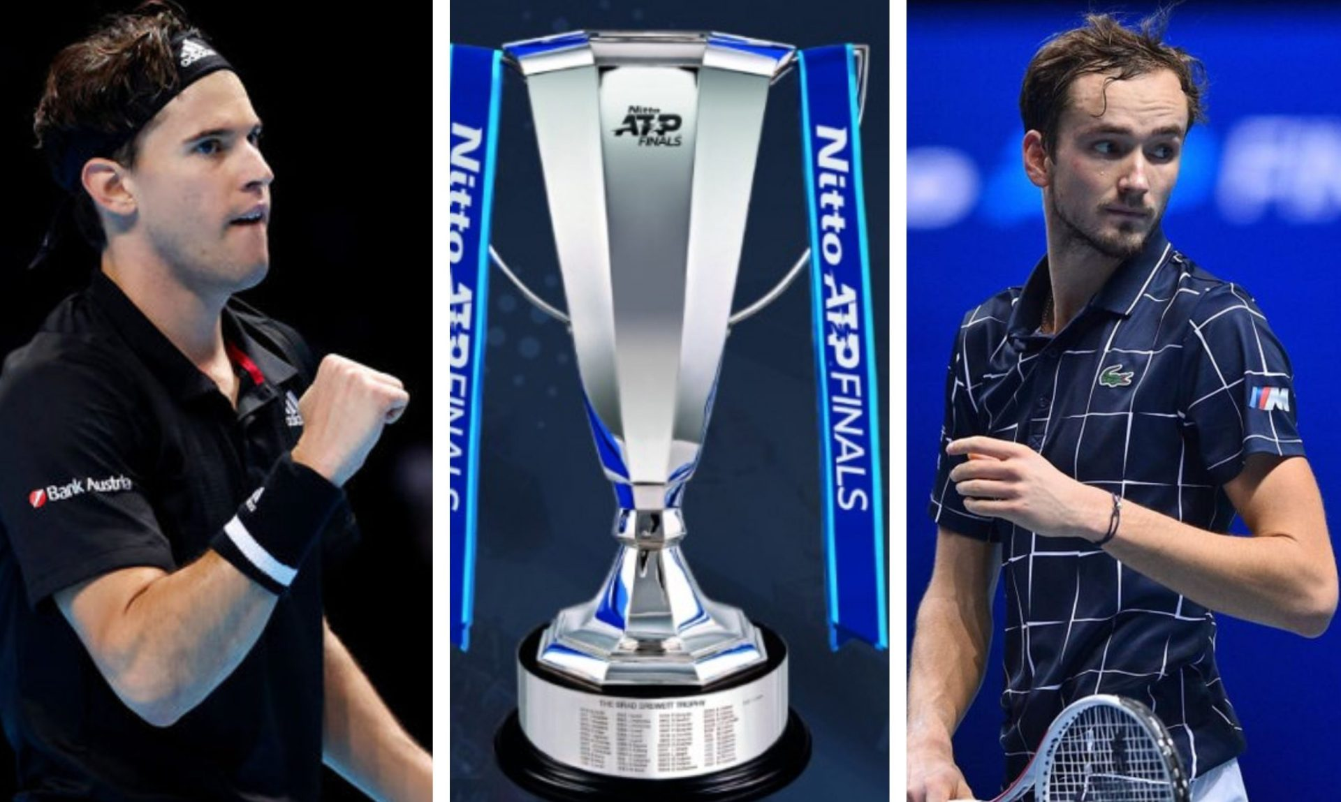 Medvedev stuns Nadal, Thiem outclasses Novak to reach ATP Finals decider - THE SPORTS ROOM