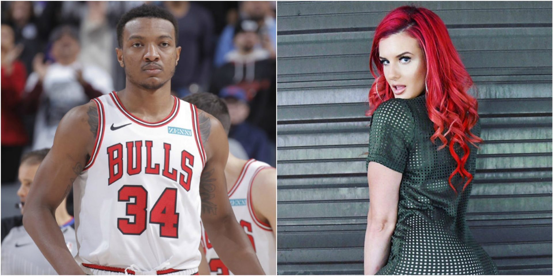 Wendell Carter Jr claims his Twitter was hacked after 'check dm' comments to Justina Valentine - THE SPORTS ROOM
