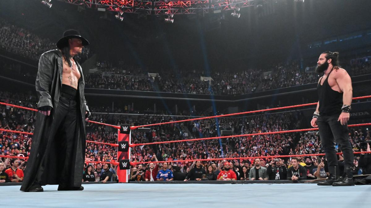 Elias opens up on asking The Undertaker for permission to wear a hat - THE SPORTS ROOM