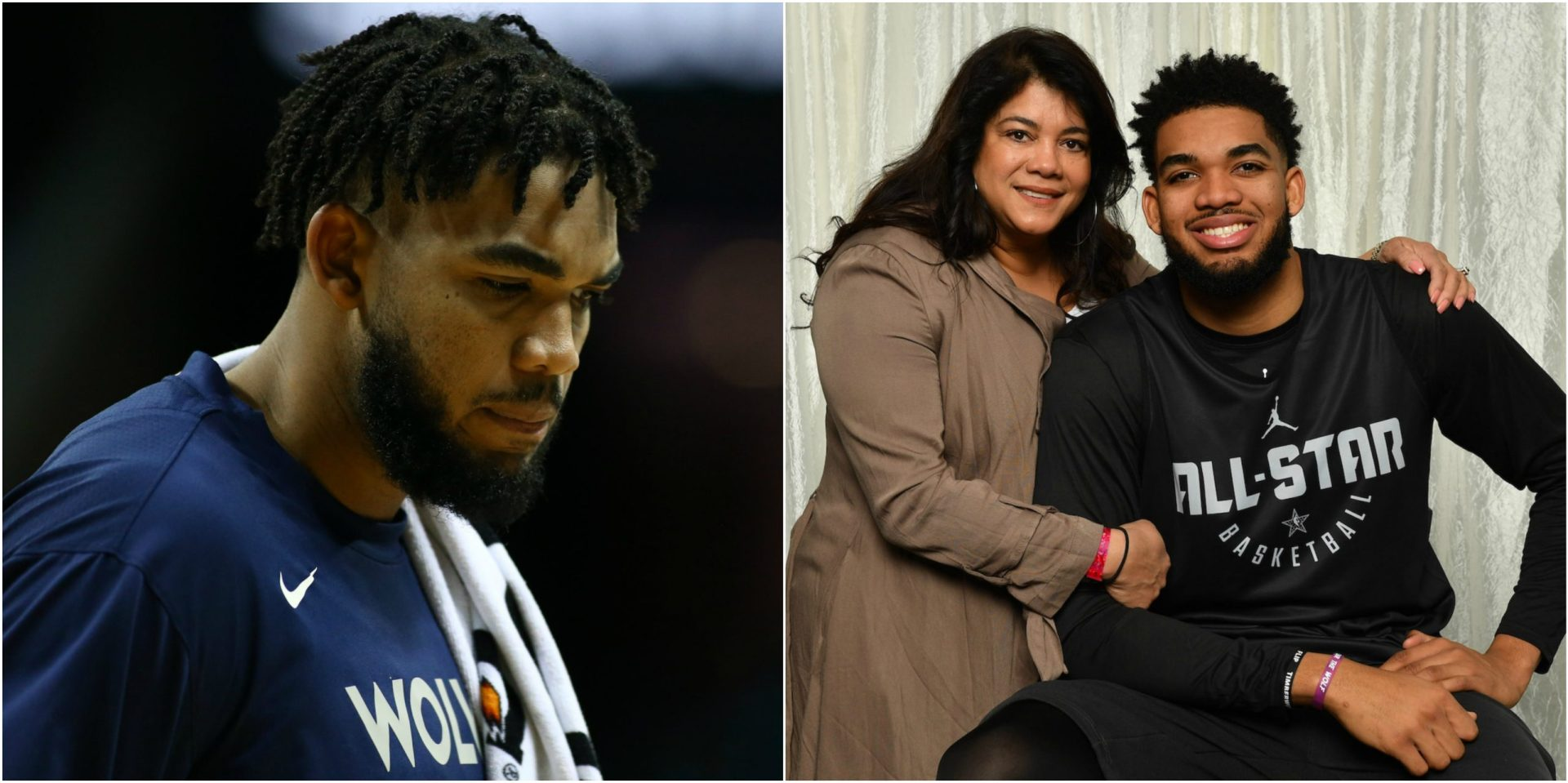 I've not been in a good place: Karl-Anthony Towns recounts losing 7 family members including mom to COVID-19 - THE SPORTS ROOM
