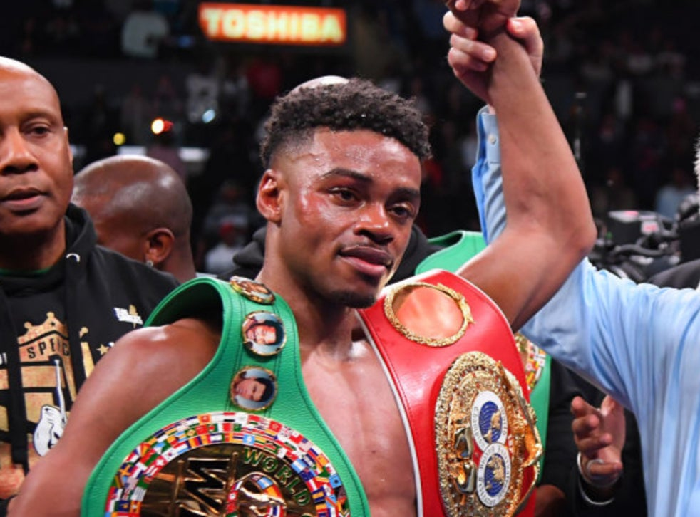 Errol Spence Jr set for boxing comeback a year after surviving car crash - THE SPORTS ROOM