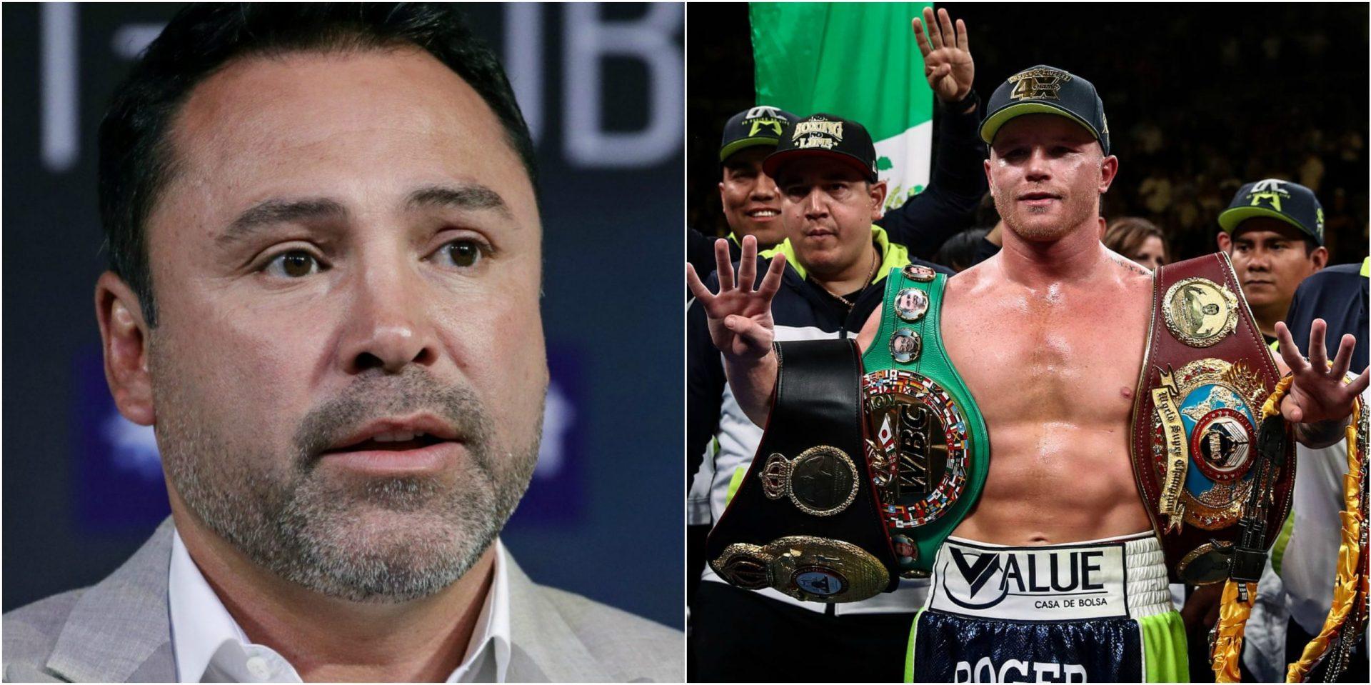 Oscar De La Hoya was 'hurt' over Canelo Álvarez and Golden Boy split - THE SPORTS ROOM