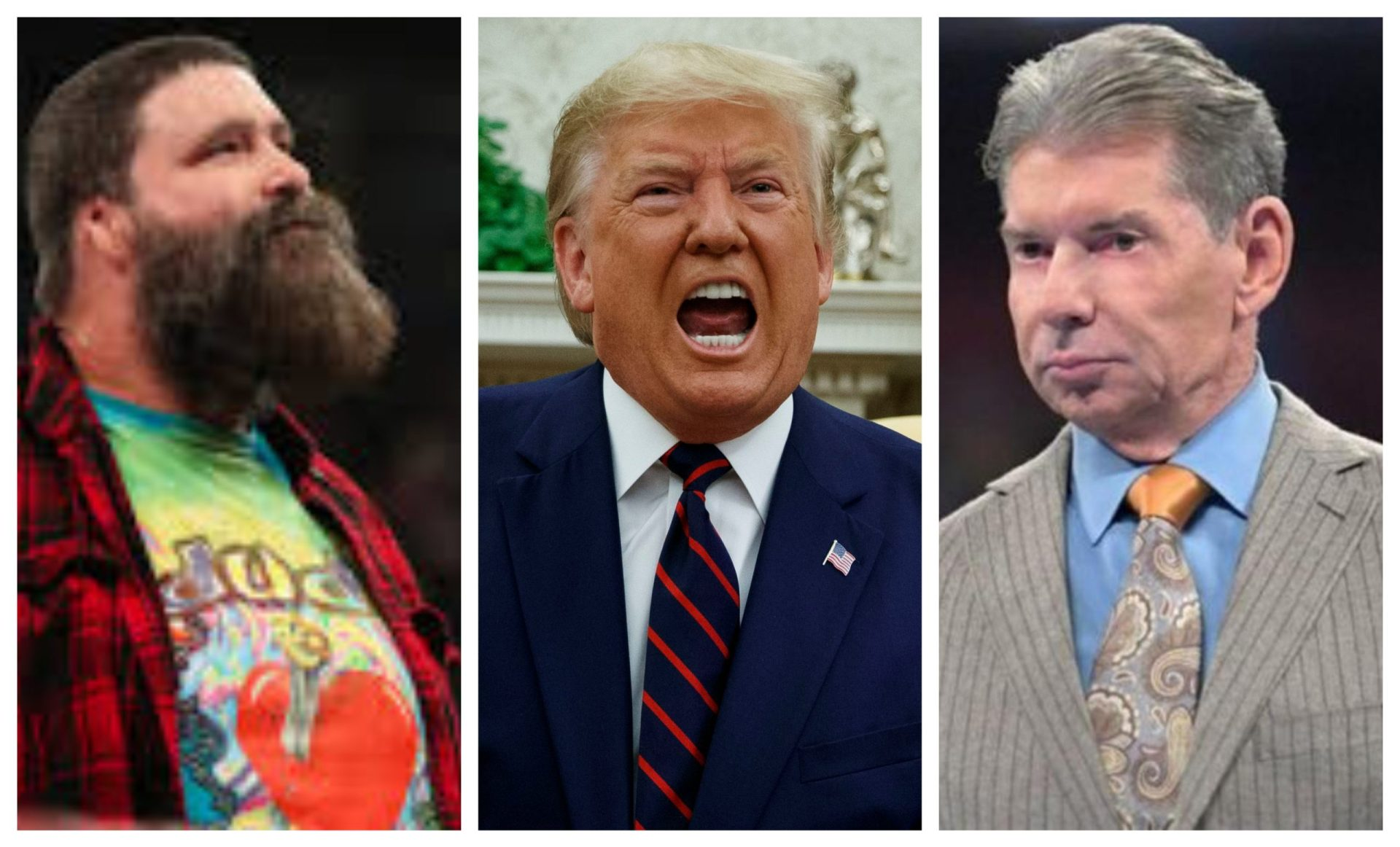 Mick Foley wants Vince McMahon to remove Donald Trump from the WWE Hall Of Fame amid Capitol chaos - THE SPORTS ROOM