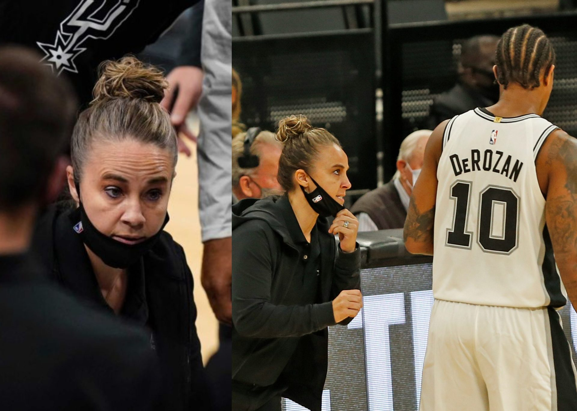 Becky Hammon becomes the first woman NBA coach following the ejection of Gregg Popovich - THE SPORTS ROOM