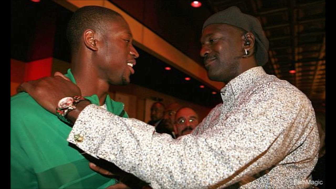 Dwyane Wade recalls his first  interaction with Michael Jordan on his draft night party - THE SPORTS ROOM