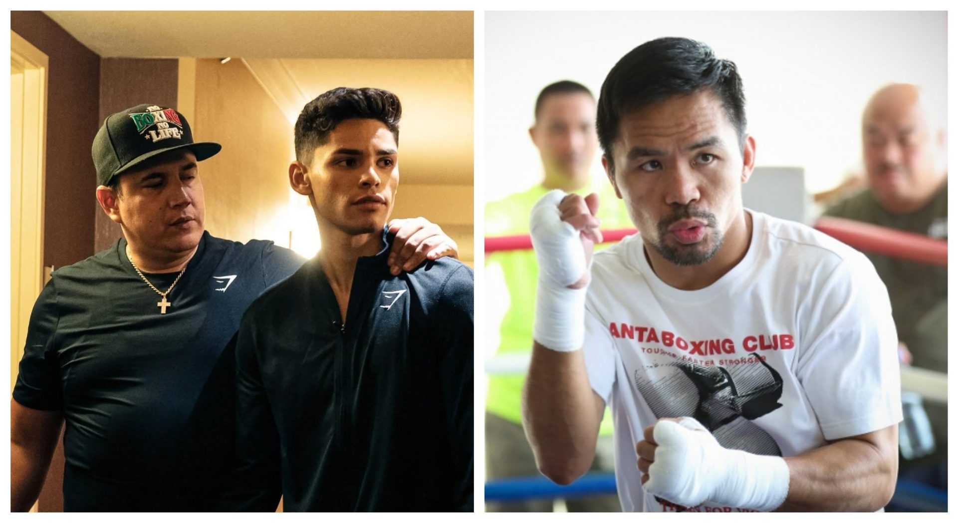Ryan García should target the top hierarchy at 135 before Manny Pacquiao, says Eddy Reynoso - THE SPORTS ROOM