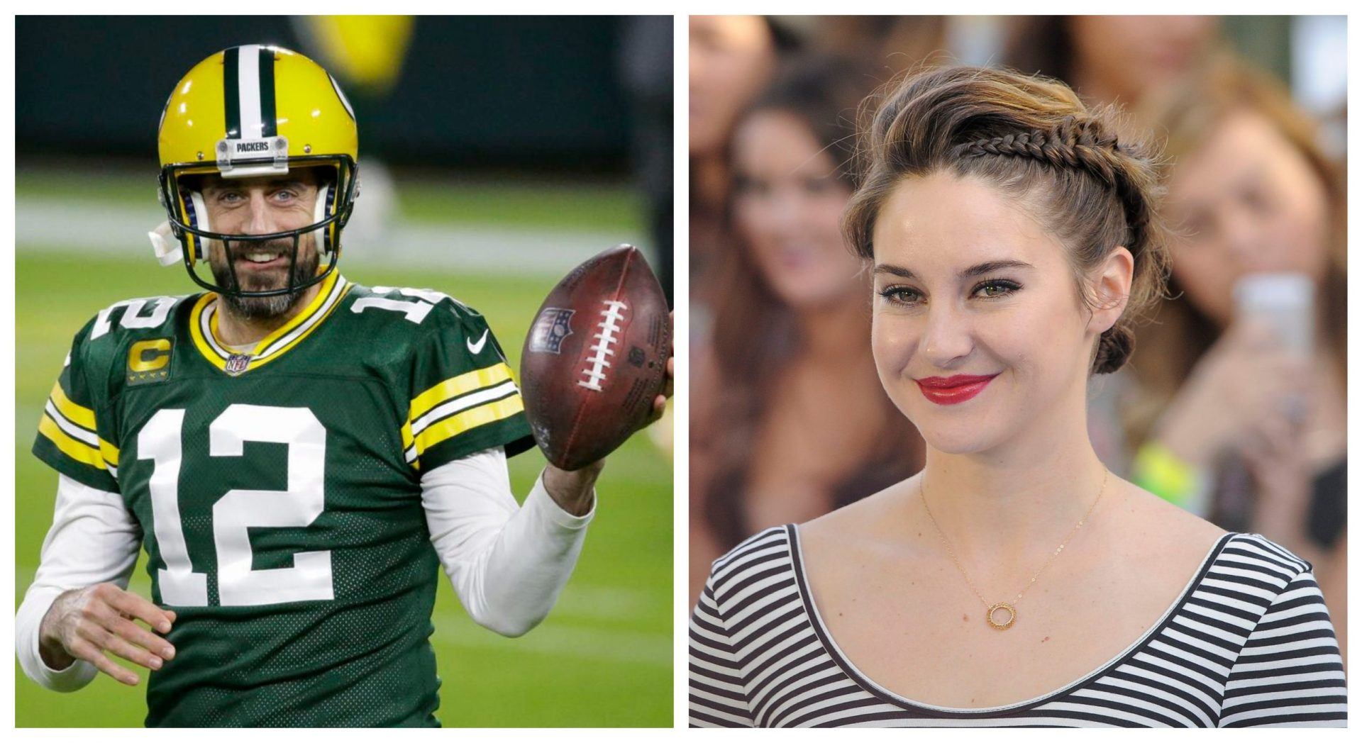 Actor Shailene Woodley confirms engagement with Packers QB Aaron Rodgers - THE SPORTS ROOM
