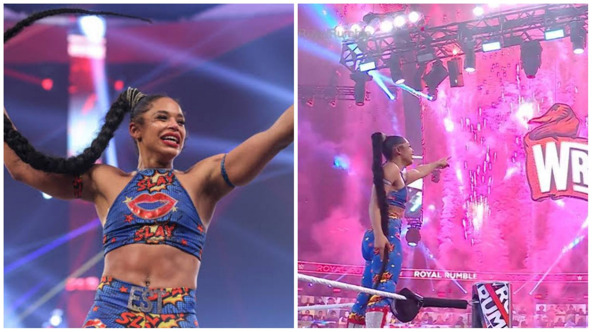 Racially motivated 'fan' called out for comments on Bianca Belair's Rumble 2021 win - THE SPORTS ROOM