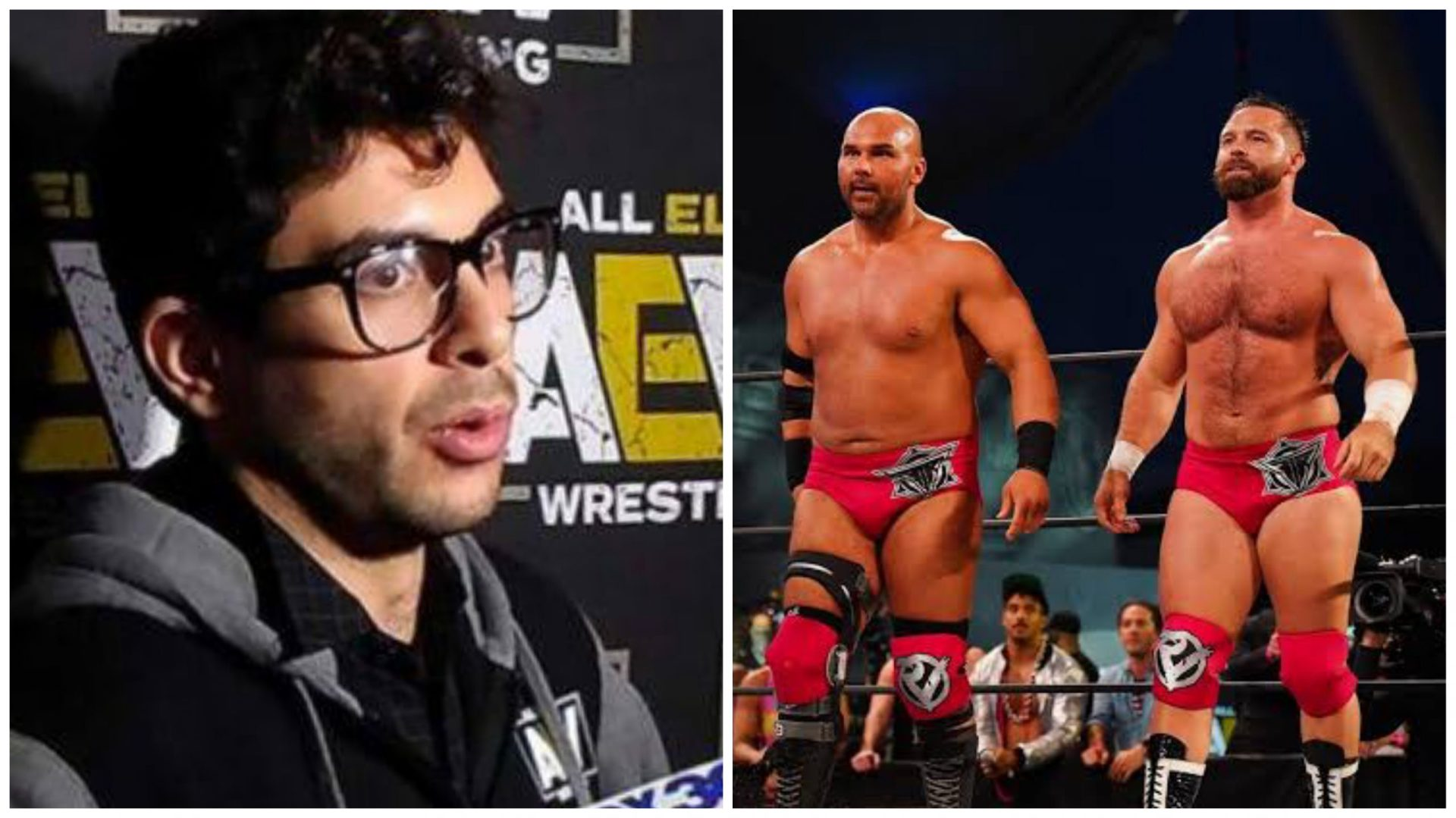 FTR suspended for 1 week by AEW - THE SPORTS ROOM