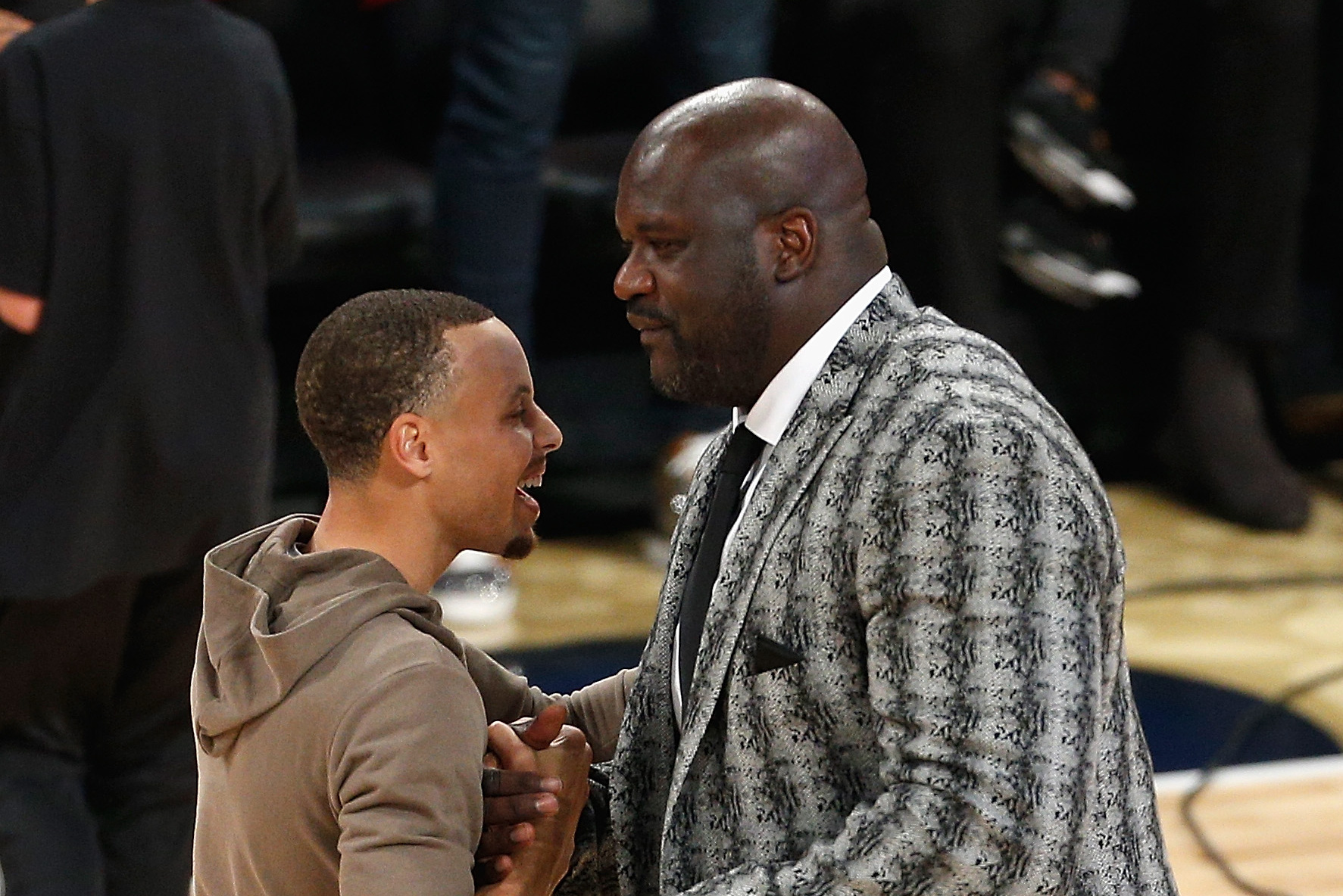 """""""I've never seen anything like him"""": Shaq on why Steph Curry is his favourite player - THE SPORTS ROOM"""
