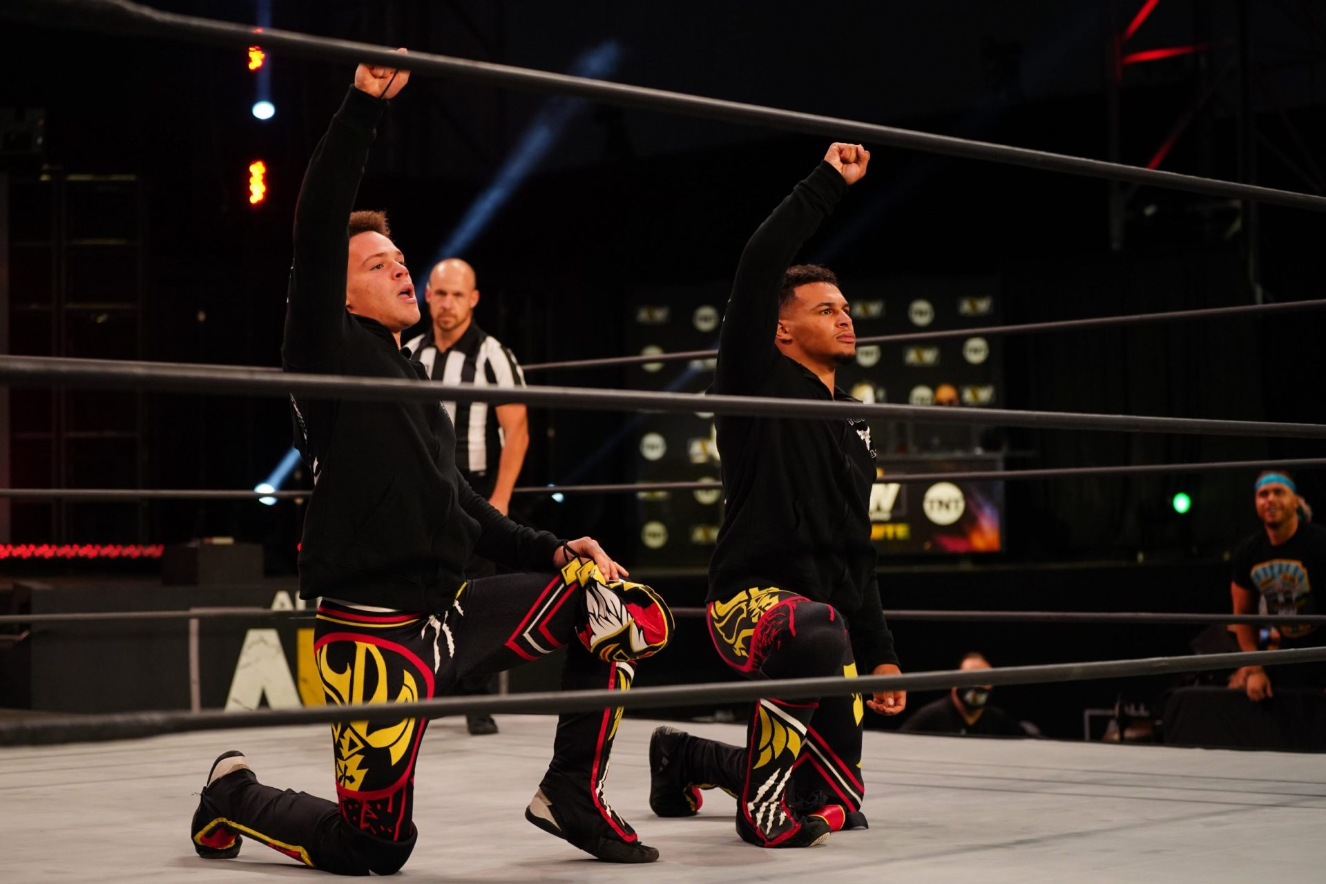 Here's why Top Flight were absent at AEW Revolution - THE SPORTS ROOM
