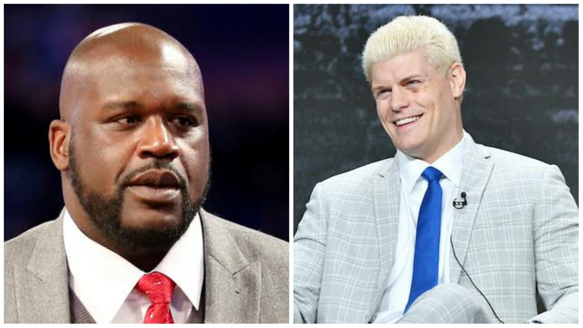 Cody Rhodes comments on Shaq ahead of Dynamite match - THE SPORTS ROOM