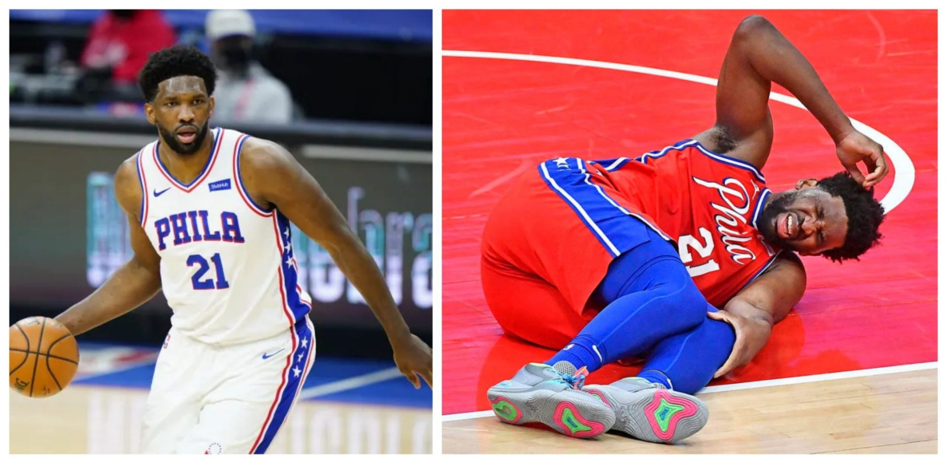 Joel Embiid slated to start for 76ers against Timberwolves - THE SPORTS ROOM