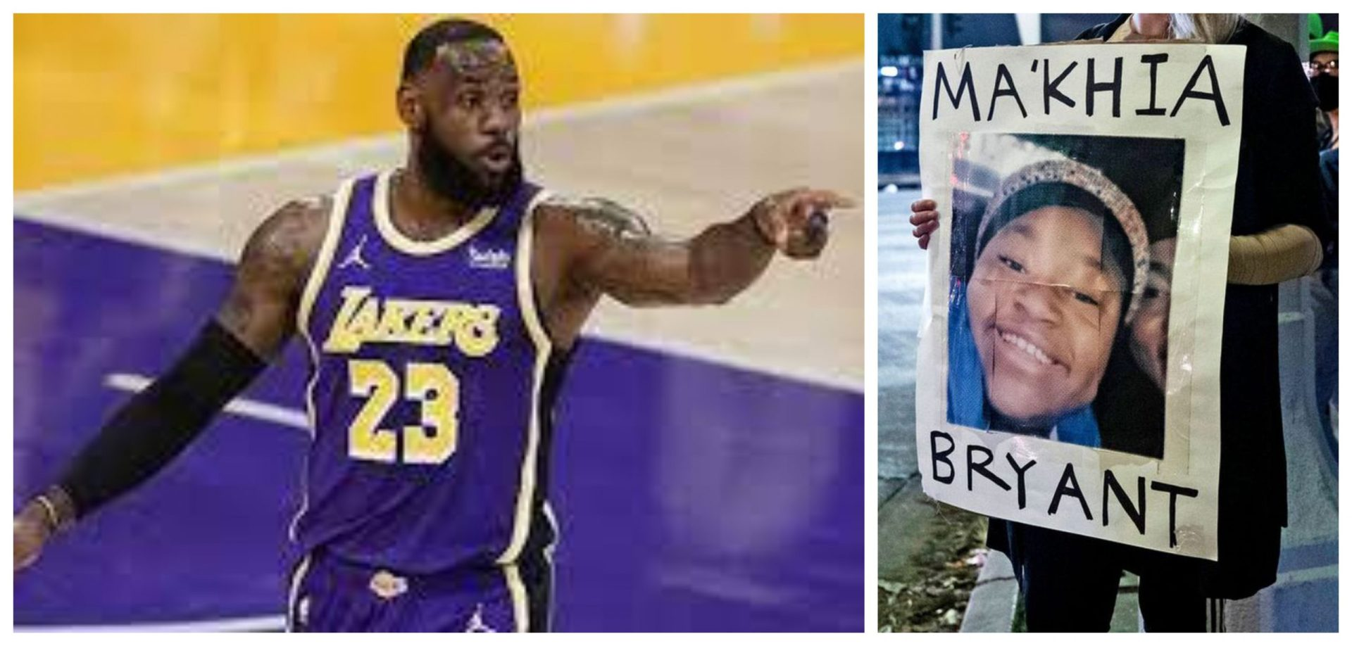 LeBron James provides an explanation on why he deleted the tweet on Ma'Khia Bryant's death - THE SPORTS ROOM