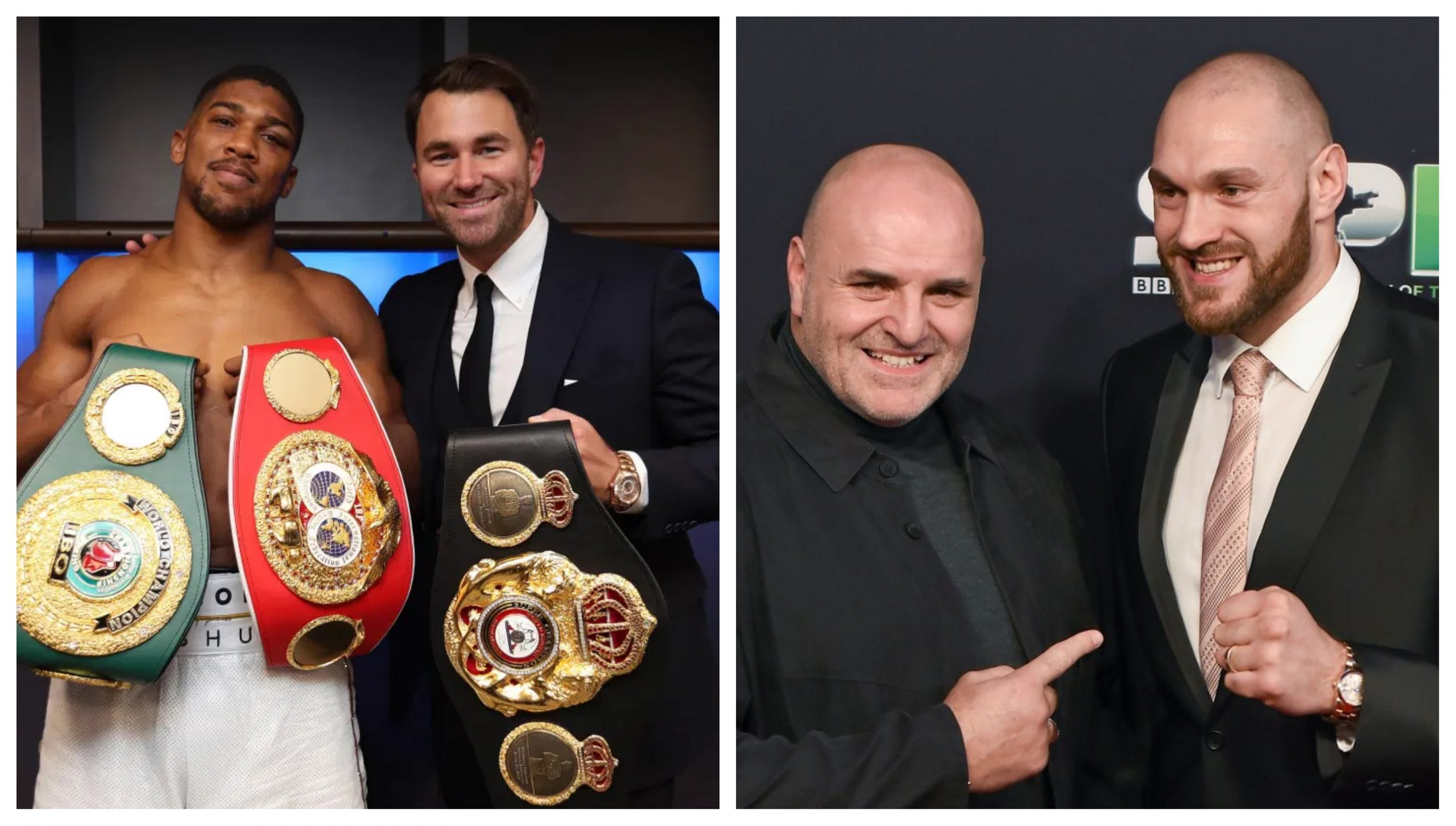 Eddie Hearn responds to Tyson Fury's father for being pessimistic about Anthony Joshua fight - THE SPORTS ROOM