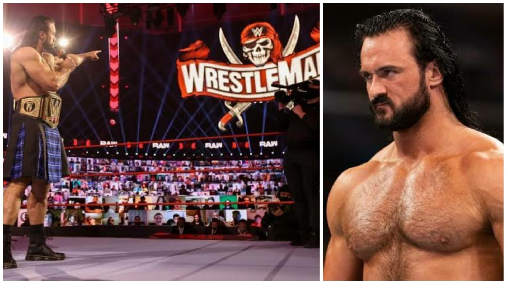 Drew McIntyre speaks about the importance of WrestleMania 37 to him - THE SPORTS ROOM