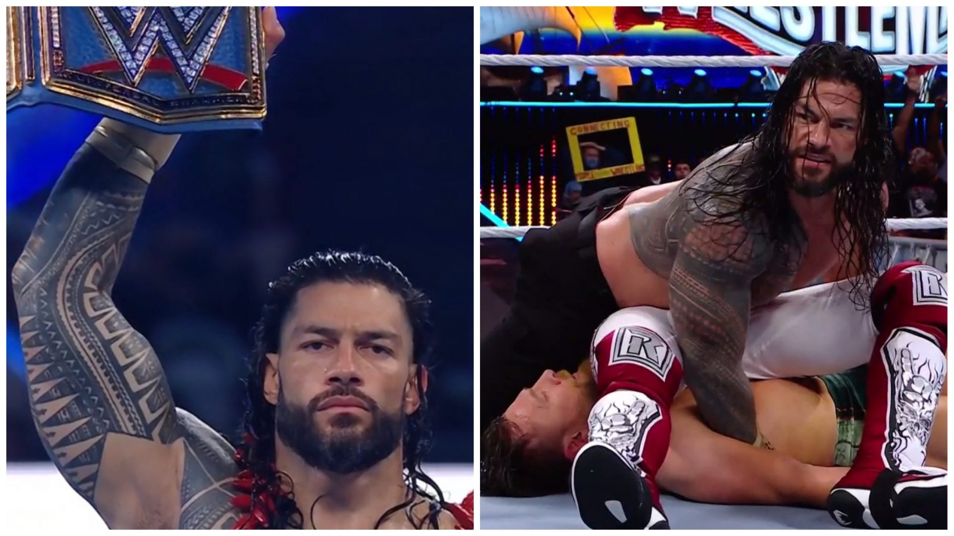 WrestleMania 37 Night 2 Results: Roman Reigns retains - THE SPORTS ROOM