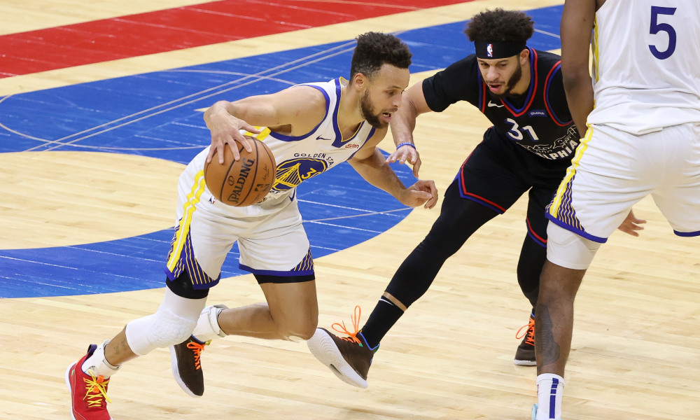 Stephen Curry breaks a slew of records in Warriors' win over 76ers - THE SPORTS ROOM