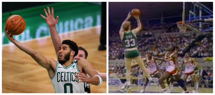 Jayson Tatum ties franchise record following sensational 60-point display in OT win against Spurs