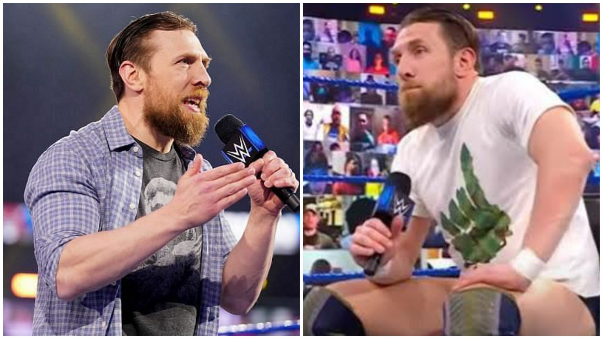 Daniel Bryan reveals a favourite match in his WWE career - THE SPORTS ROOM