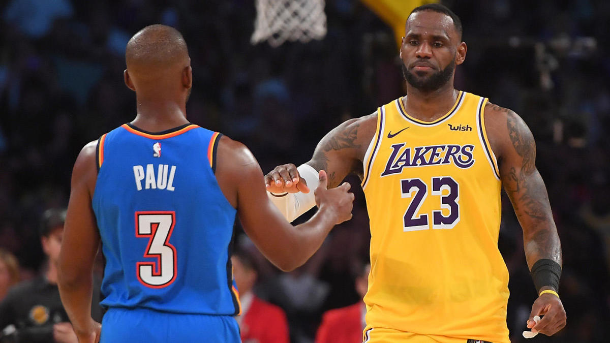LeBron James aims to bring his A-game against fellow veteran Chris Paul in the first round of playoffs - THE SPORTS ROOM
