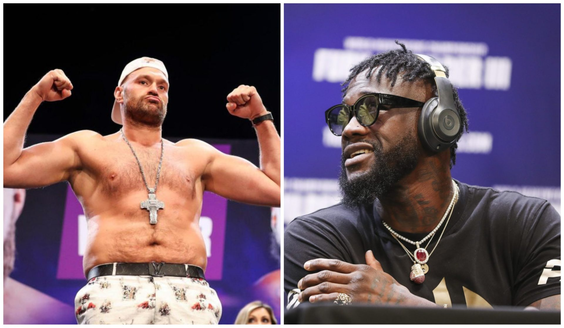 Tyson Fury says Deontay Wilder is 'mentally weak' ahead of their July 24 fight - THE SPORTS ROOM