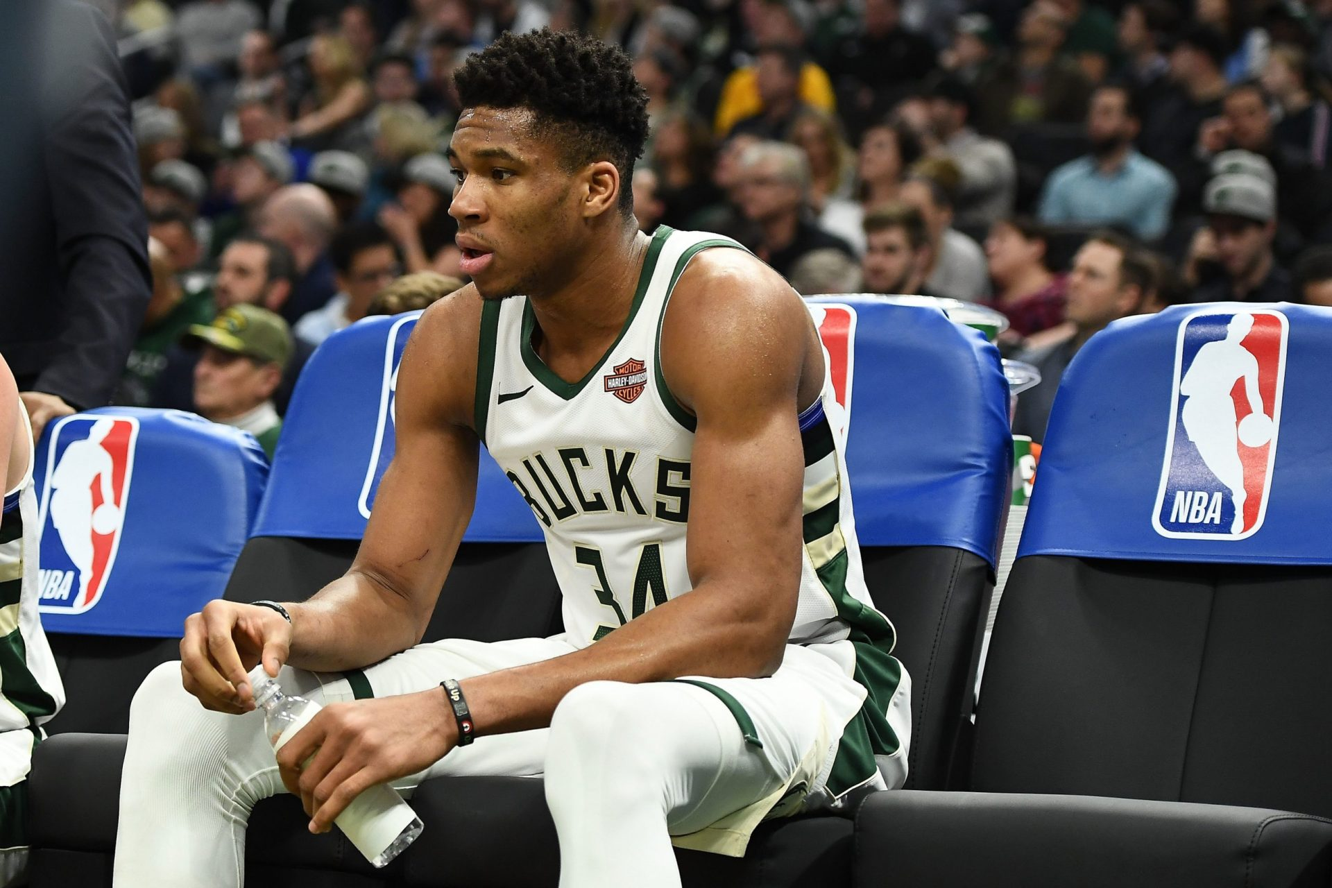 Giannis required doses of IV treatment to counter dehydration following Game 5 - THE SPORTS ROOM