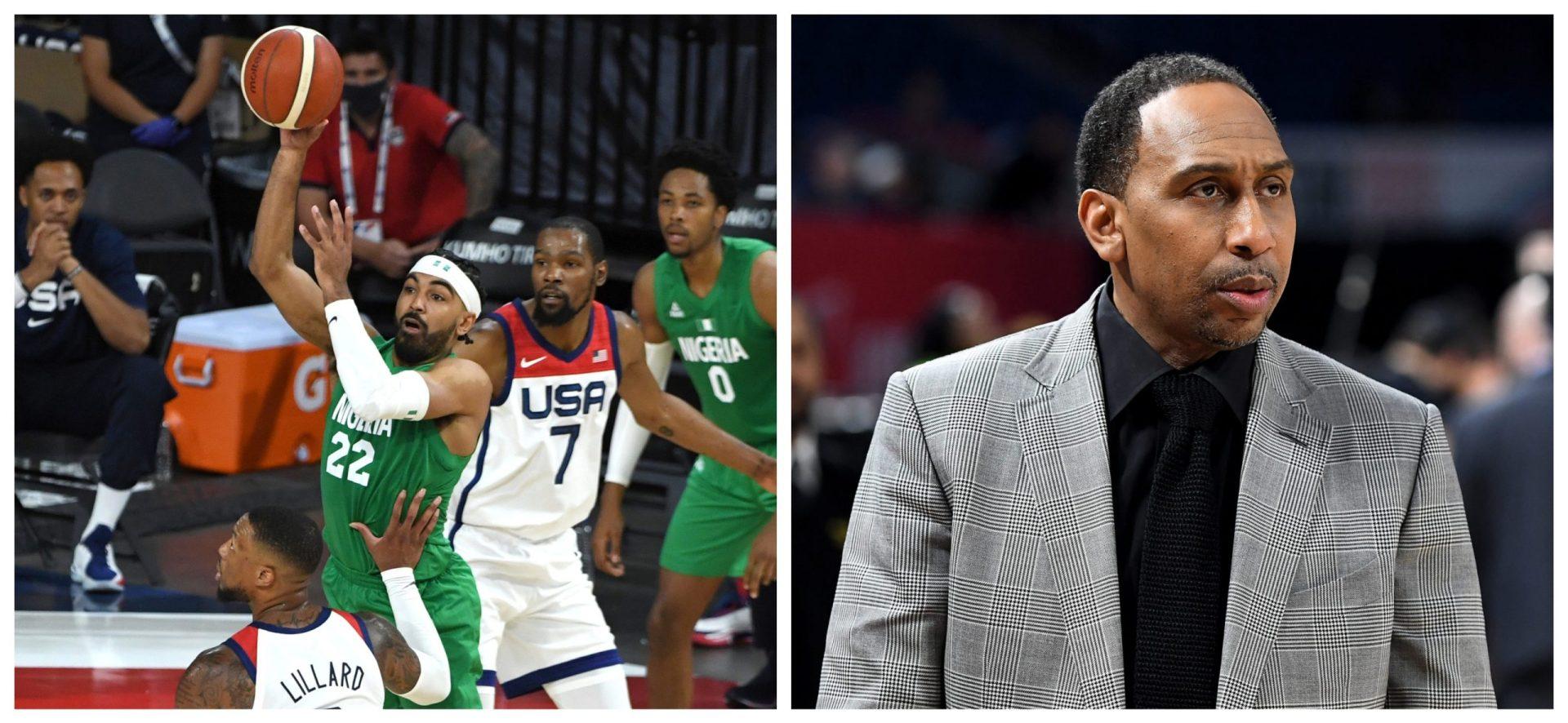 Team Nigeria slams Stephen A Smith over disrespecting segment - THE SPORTS ROOM