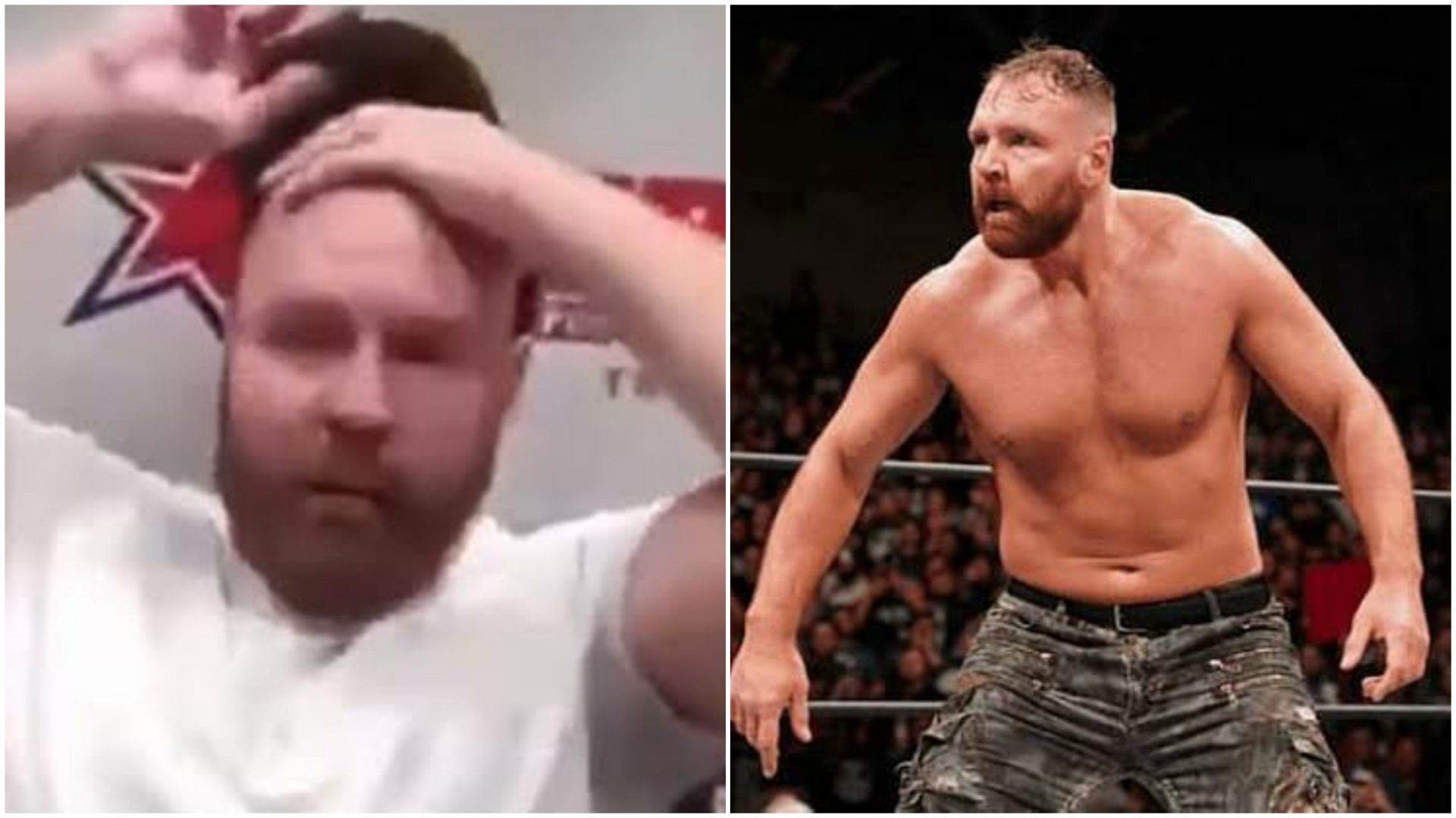 """Jon Moxley """"unveils"""" brand-new look - THE SPORTS ROOM"""