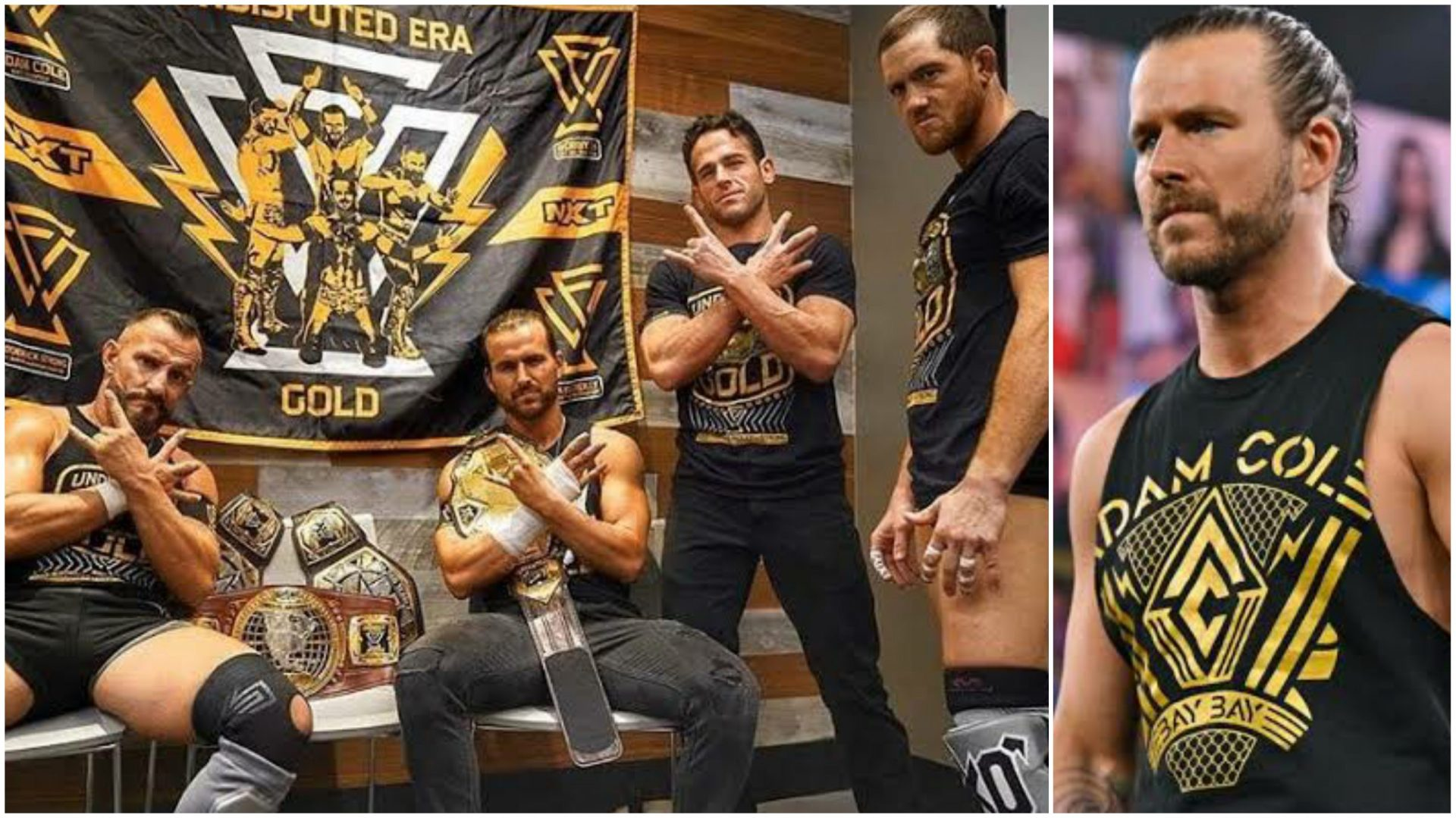 Adam Cole comments on the dissolution of The Undisputed Era - THE SPORTS ROOM