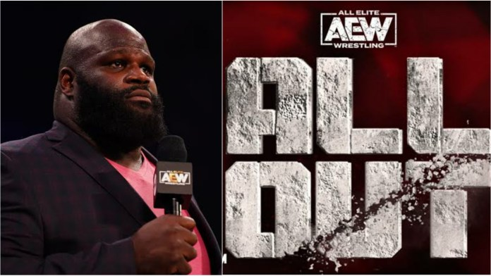 Mark Henry reveals huge plans with All Out PPV to improve fan experience - THE SPORTS ROOM