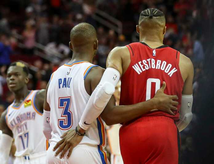 Lakers interested in acquiring Chris Paul or Russell Westbrook