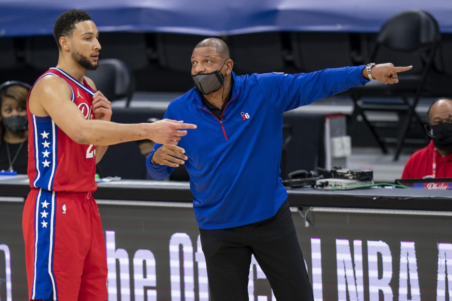 Ben Simmons reportedly wanted 76ers coach Doc Rivers to apologize for his comments