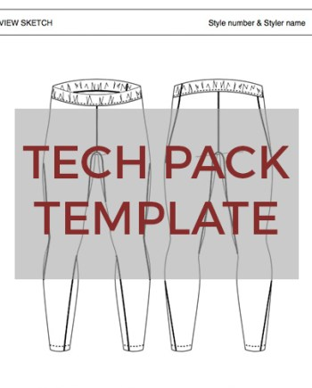 Sportswear Inc. Tights Templates