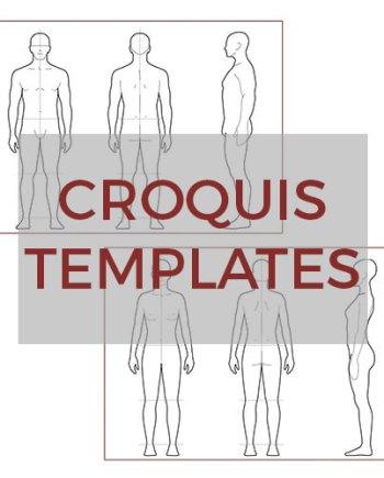 Sportswear Inc. Croquis Templates