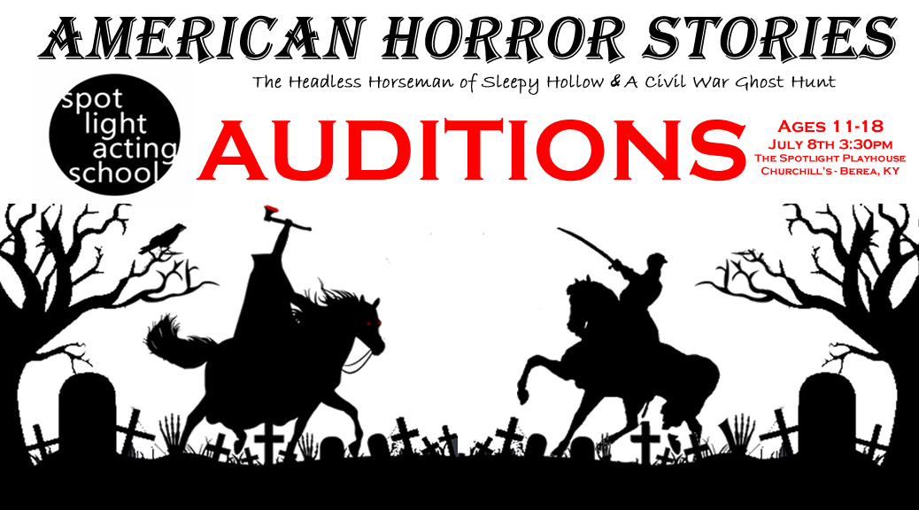 American Horror Stories Auditions (Spotlight Acting School – Ages 11-18)