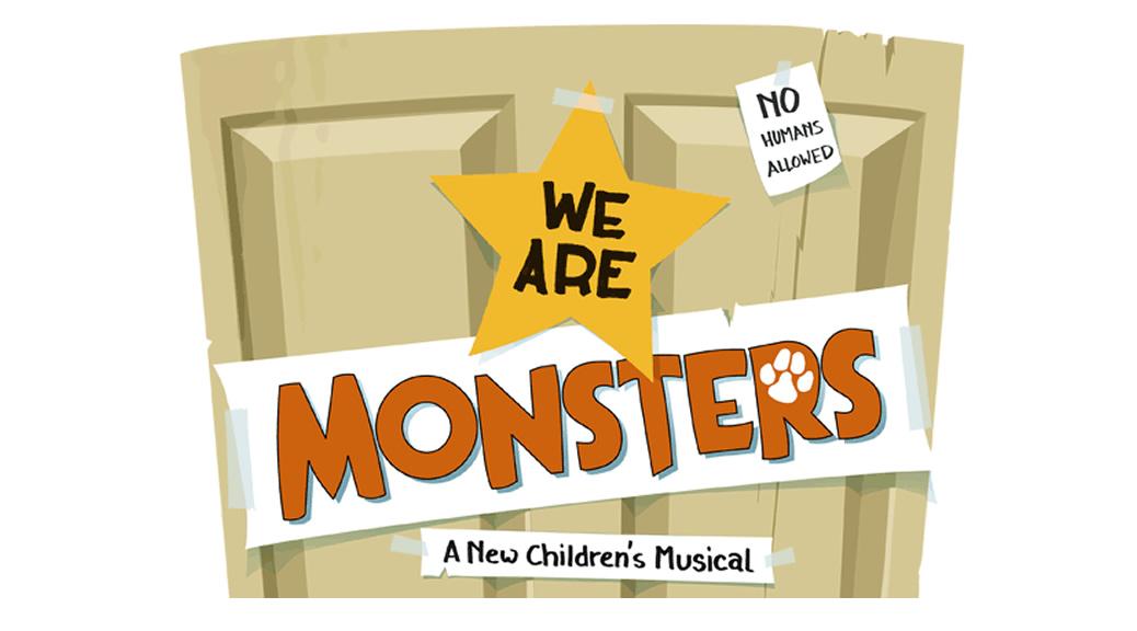 we are monster logo