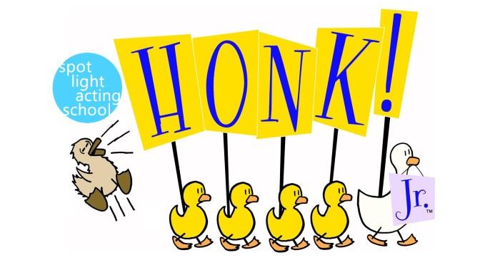 Honk Jr. Spotlight Logo