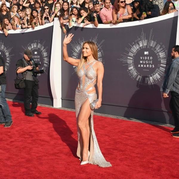 Jennifer Lopez VMA Gown