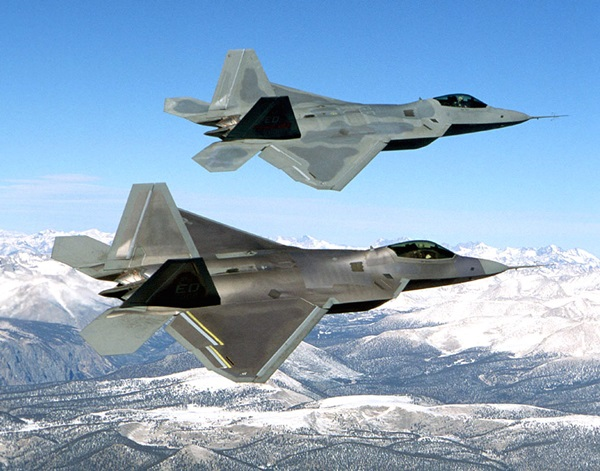 Russian planes F-22 fighters