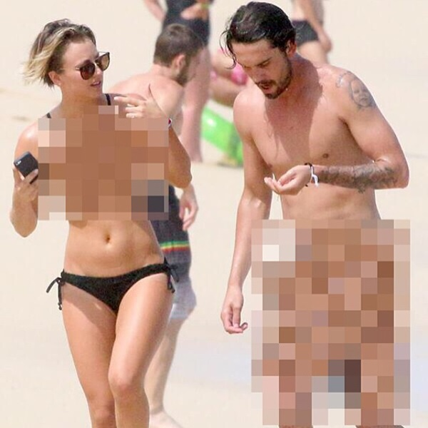 kaley cuoco jimmy kimmel leak pic