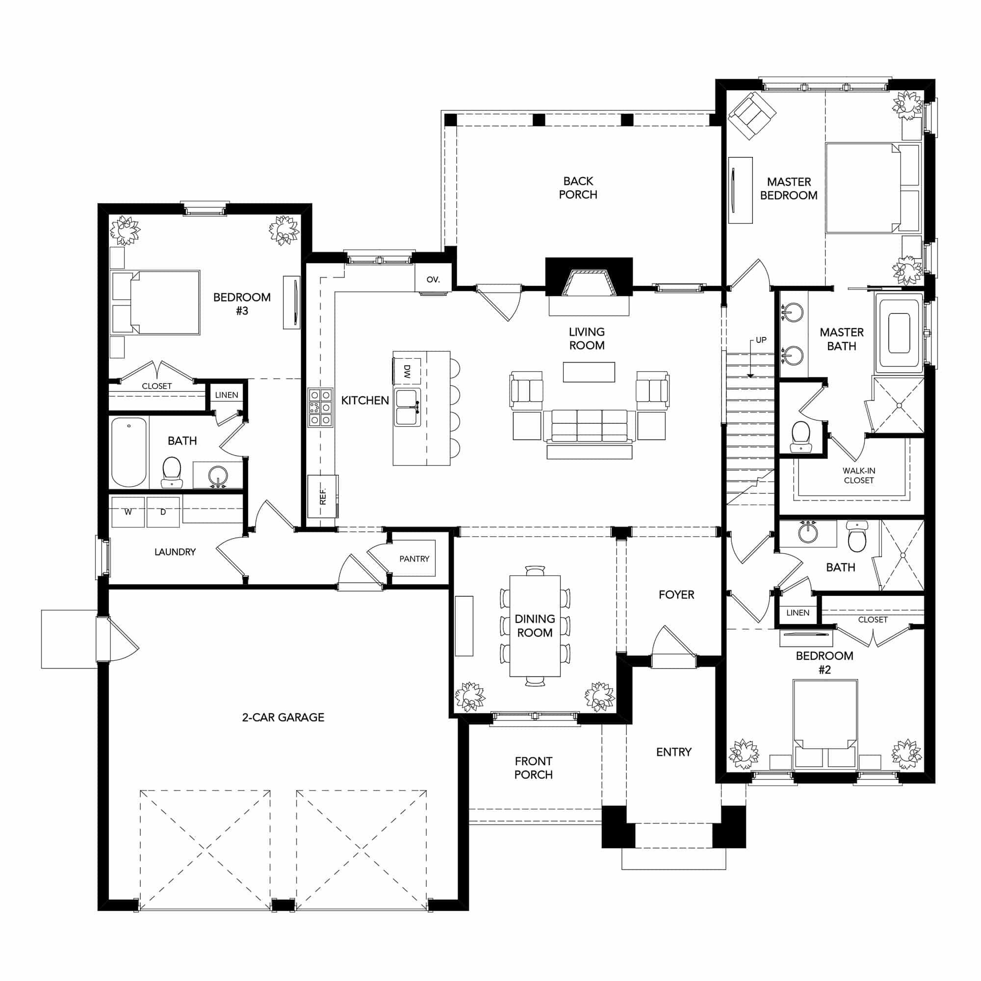 St Floor With Maison Plan