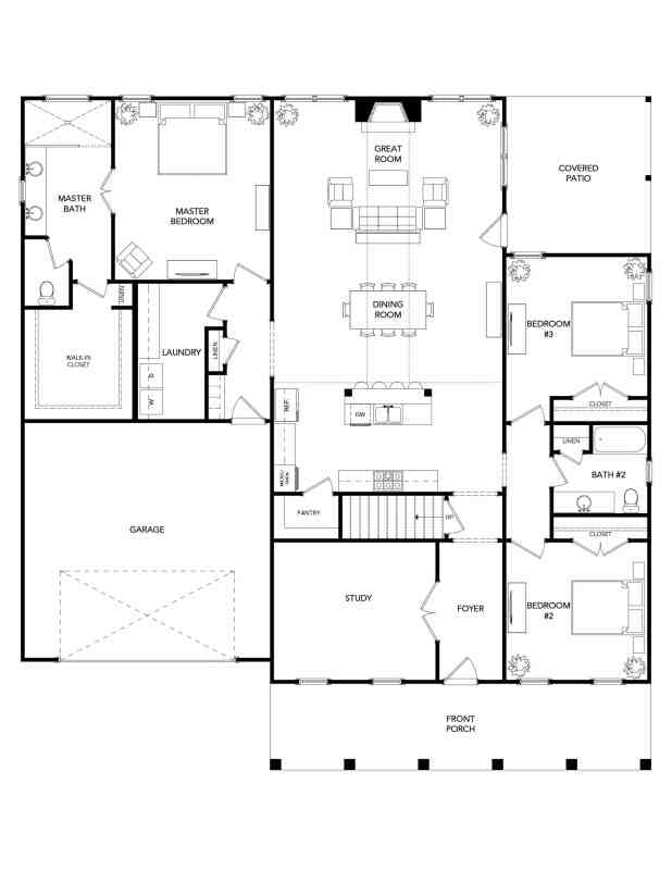 The Oxford Floorplan