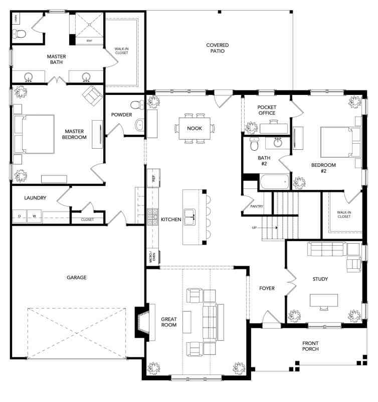 The Surrey Floorplan - 1st Floor