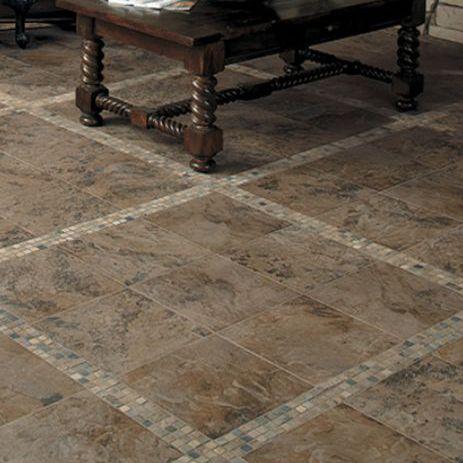 flooring a rustic tuscan look