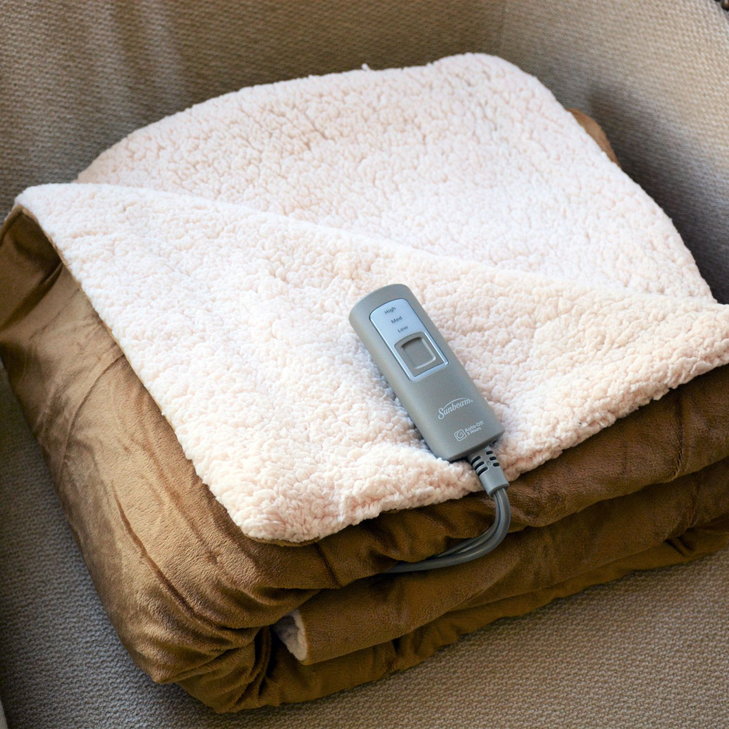 Sunbeam Reversible Heated Throw Review Doesn T Bring The Heat