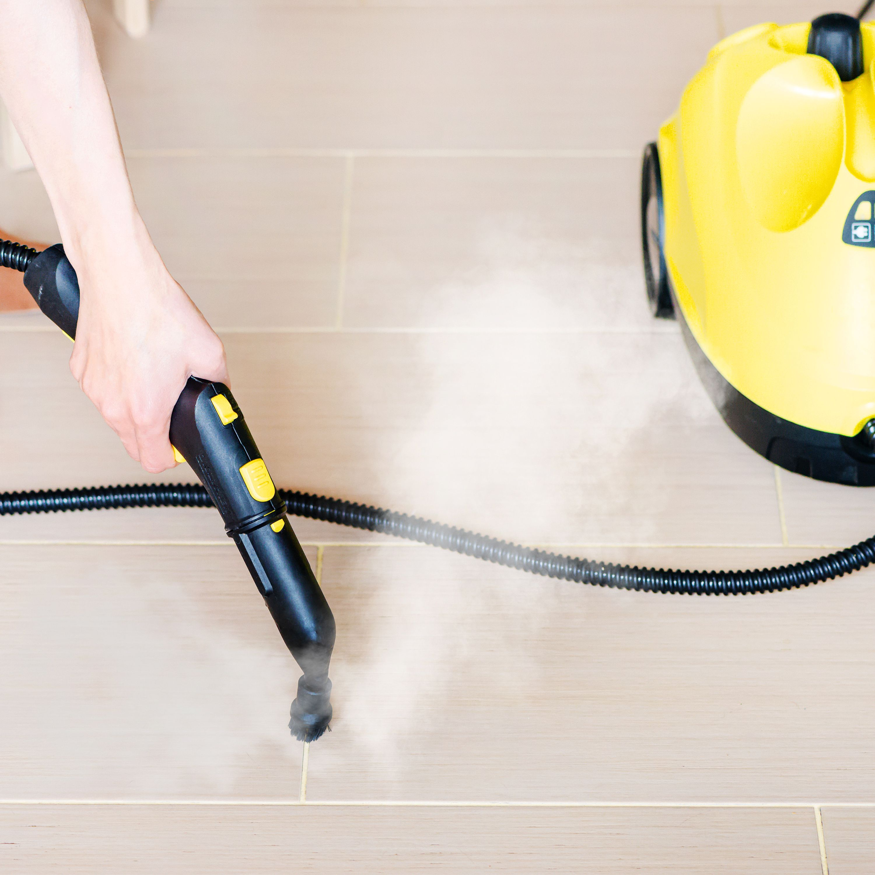 how to use a steam cleaner for grout