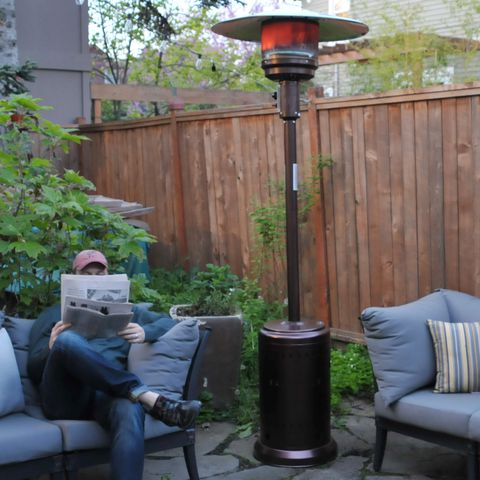 fire sense bronze patio heater