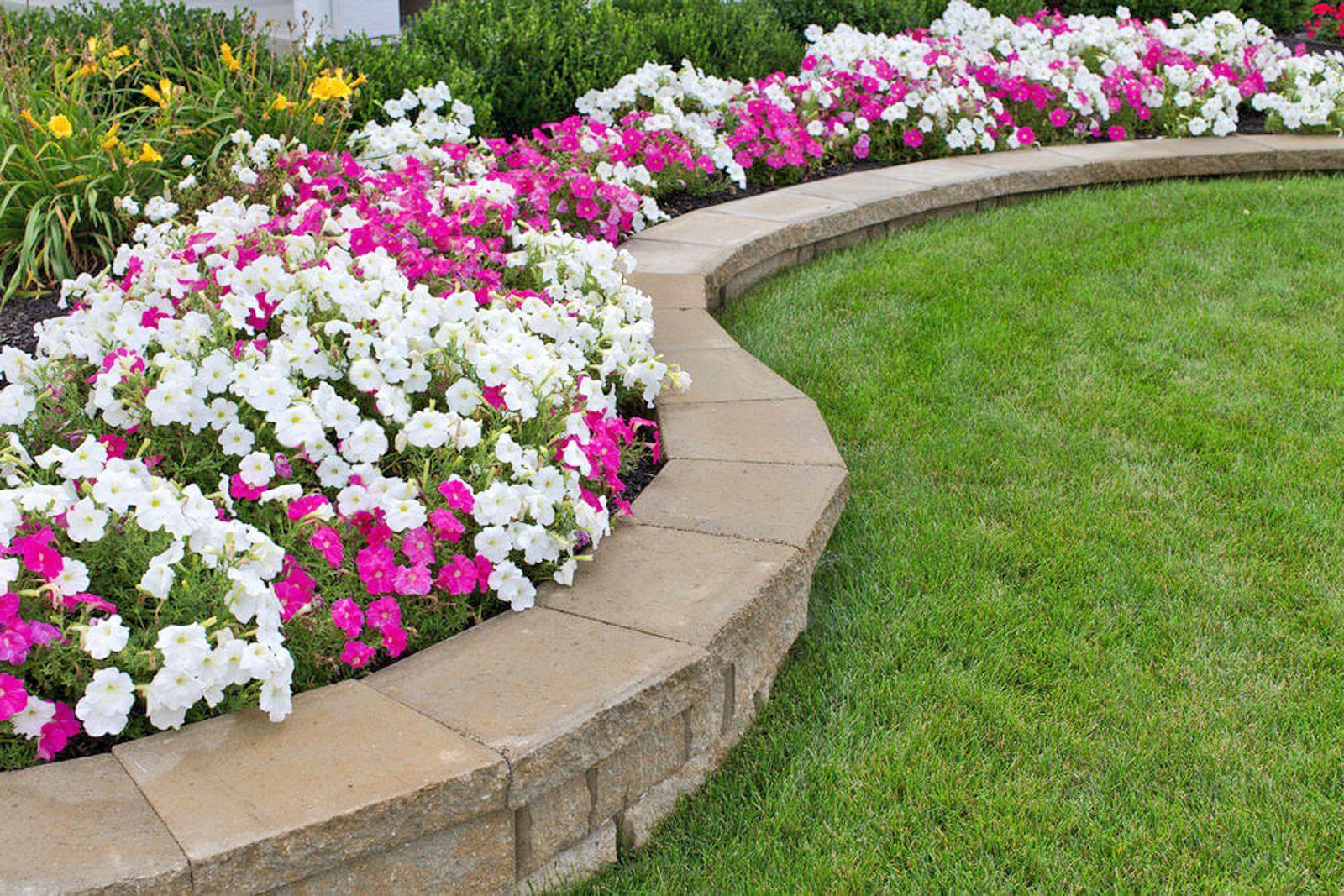 15 Garden Edging Ideas on Backyard Border Ideas id=53525