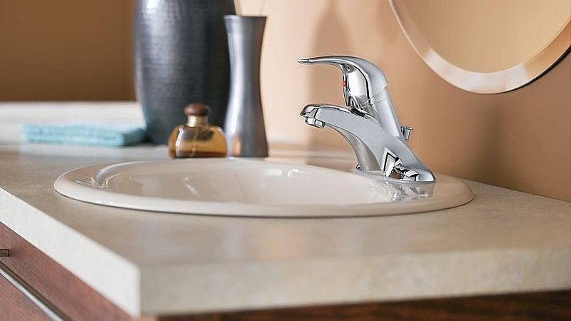 how to install a bathroom faucet in a